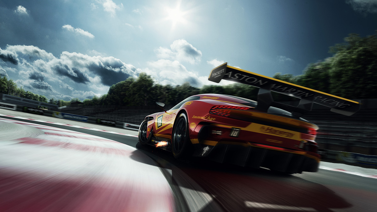 Aston Martin Vulcan Racing On Behance