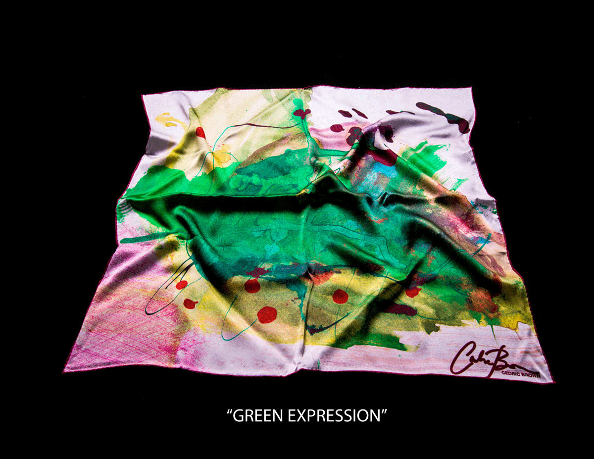 cedric brown collection silk scarves 2015 on behance