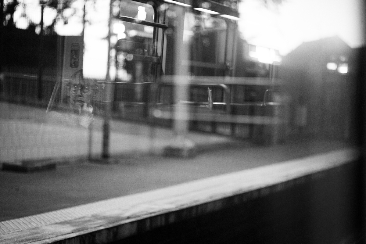 train Evening Street