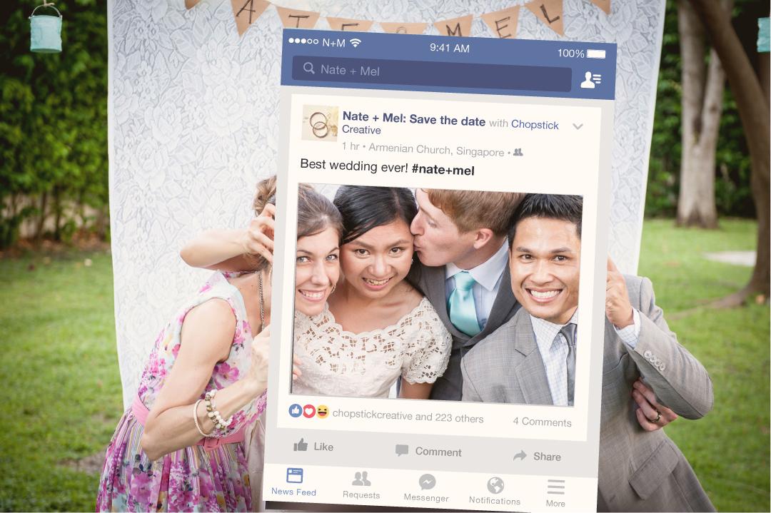 Facebook Selfie Frame Design + Production on Behance