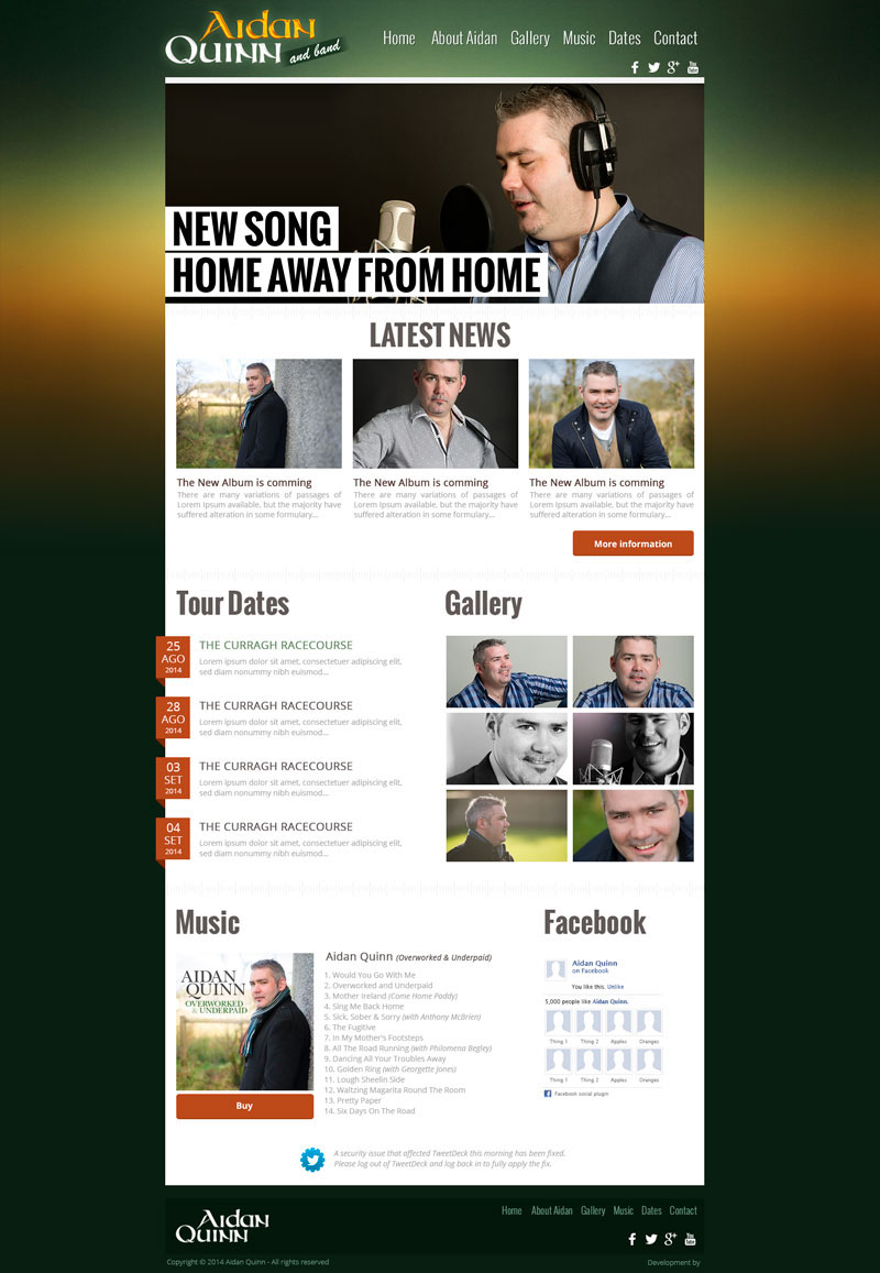 Layout,logo,video,Ireland,Singer