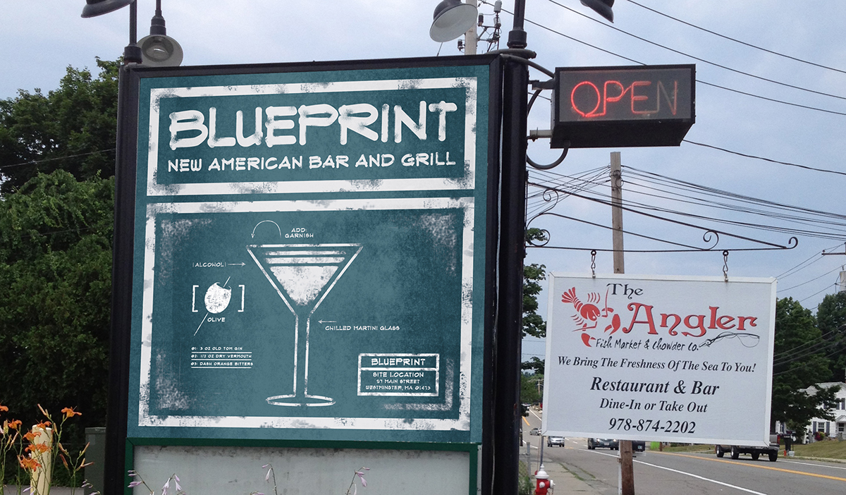 Blueprint new american bar and grill on corcoran portfolios blueprint new american bar and grill malvernweather Gallery