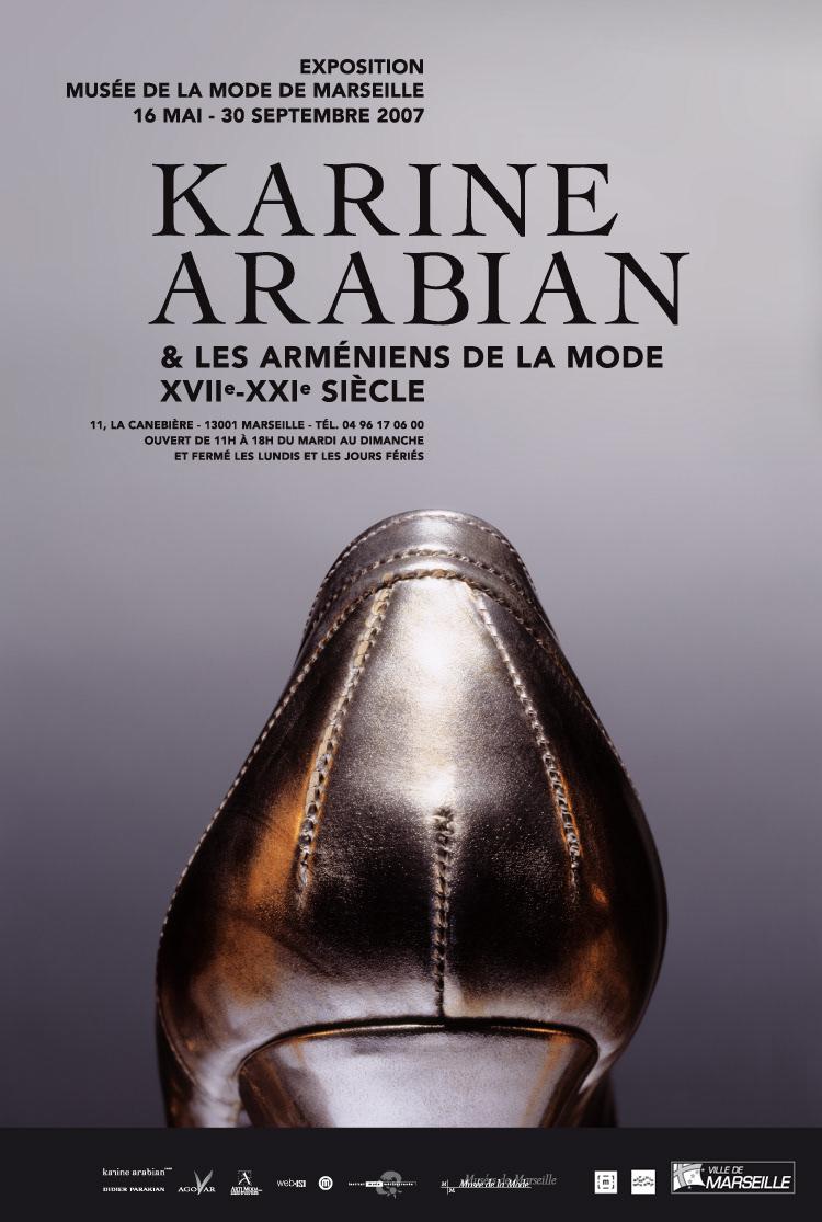 exposition arménie Mode musée graphisme identité karine arabian