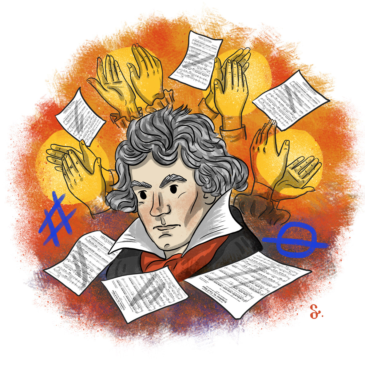 Composers beethoven prokofiev composing music classical music musicians Piano Klasik Müzik notes