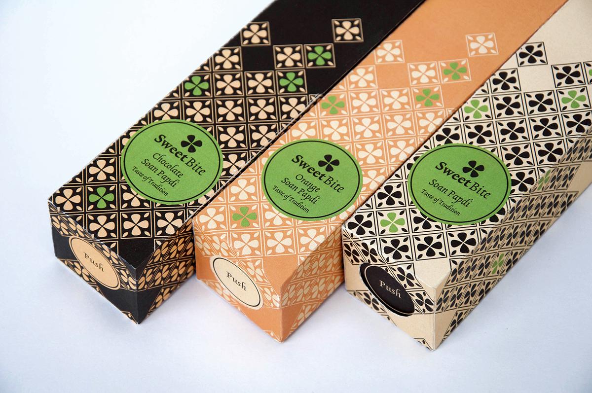 soan papdi packaging Food Packaging ethnic food sweet pattern tradition