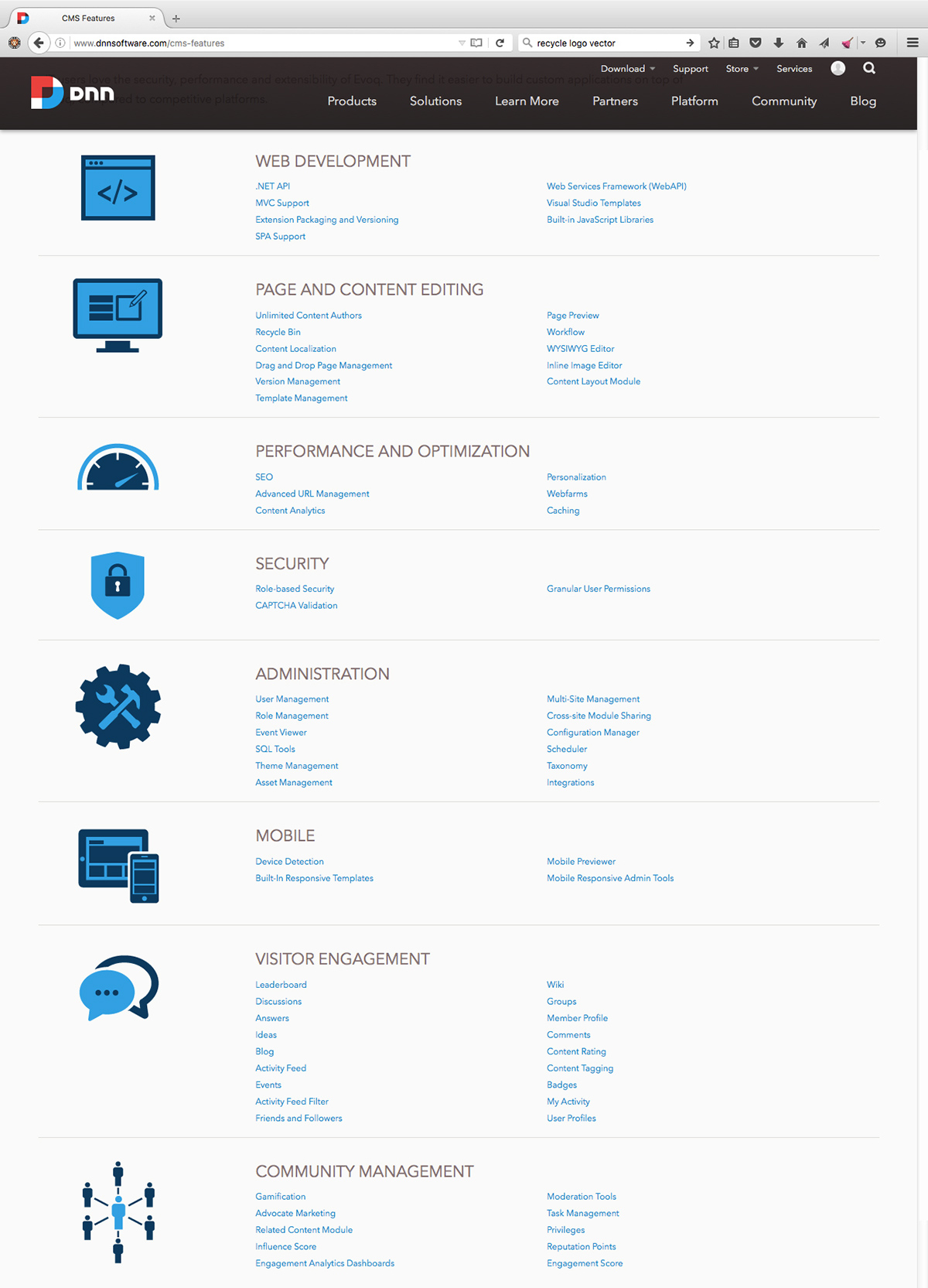 icons diagrams Marketecture