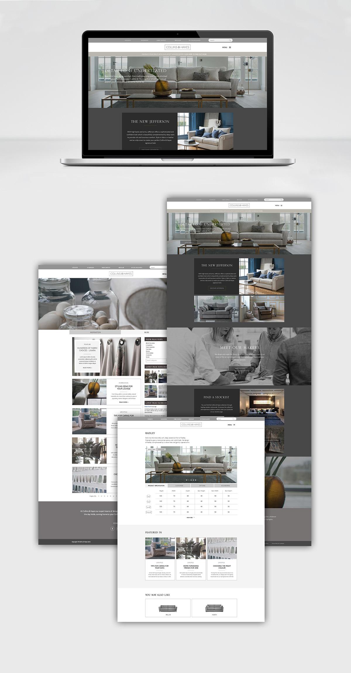 branding  brochure furniture identity logo luxury Web
