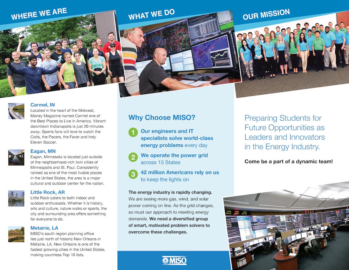 brochure trifold recruitment