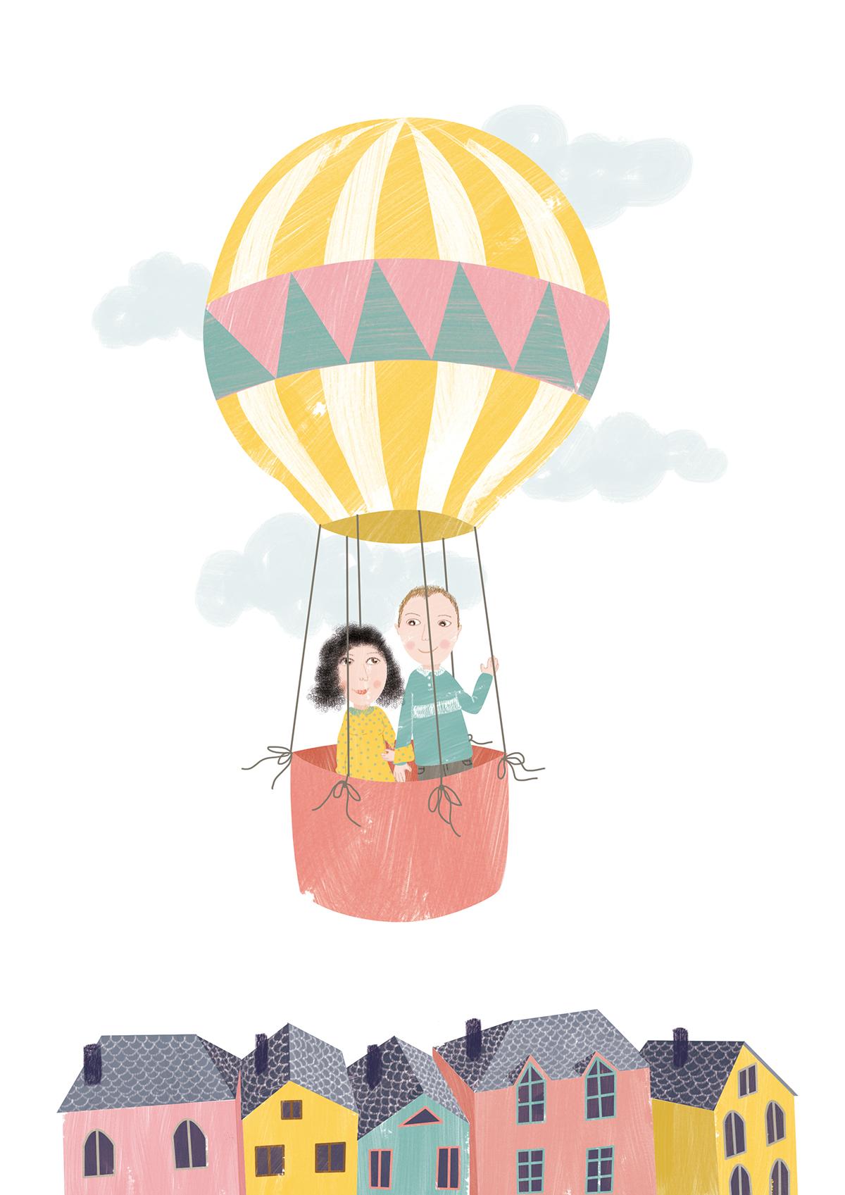 ilustración digital Digital Art  Proyecto ilustrado ilustracion
