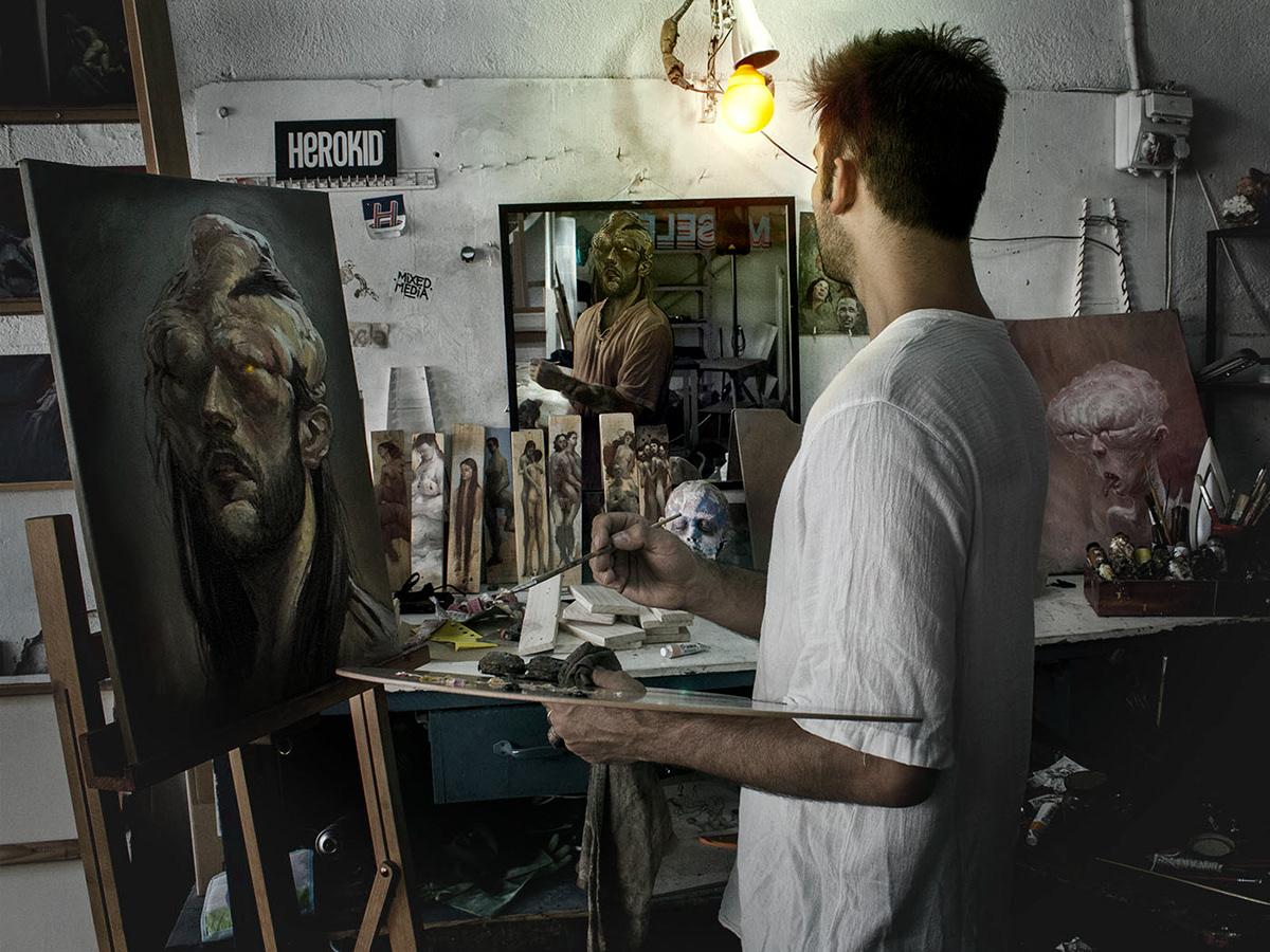 dr case artists with character symbiosis victor enrich Enric Sant DOURONE Vanesa Muñoz Sepe mr thoms marco rea