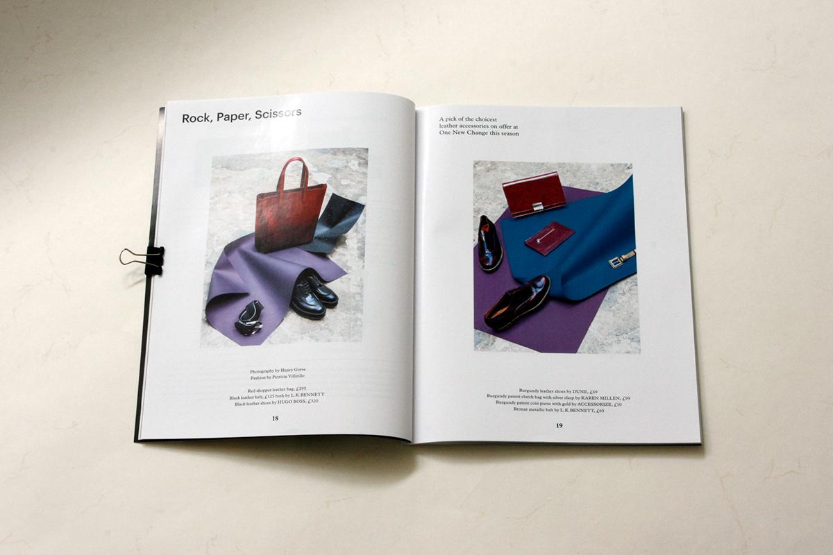 fashion magazine London print Shopping