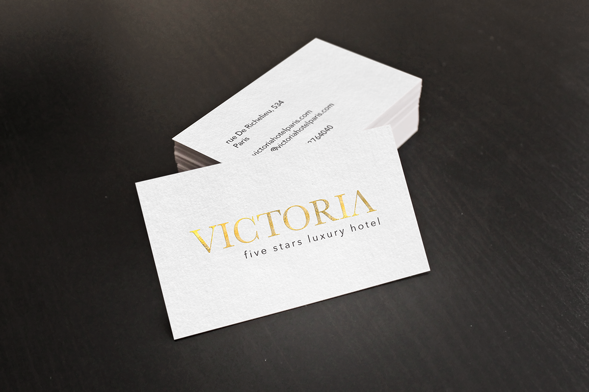 victoria | business cards on Behance