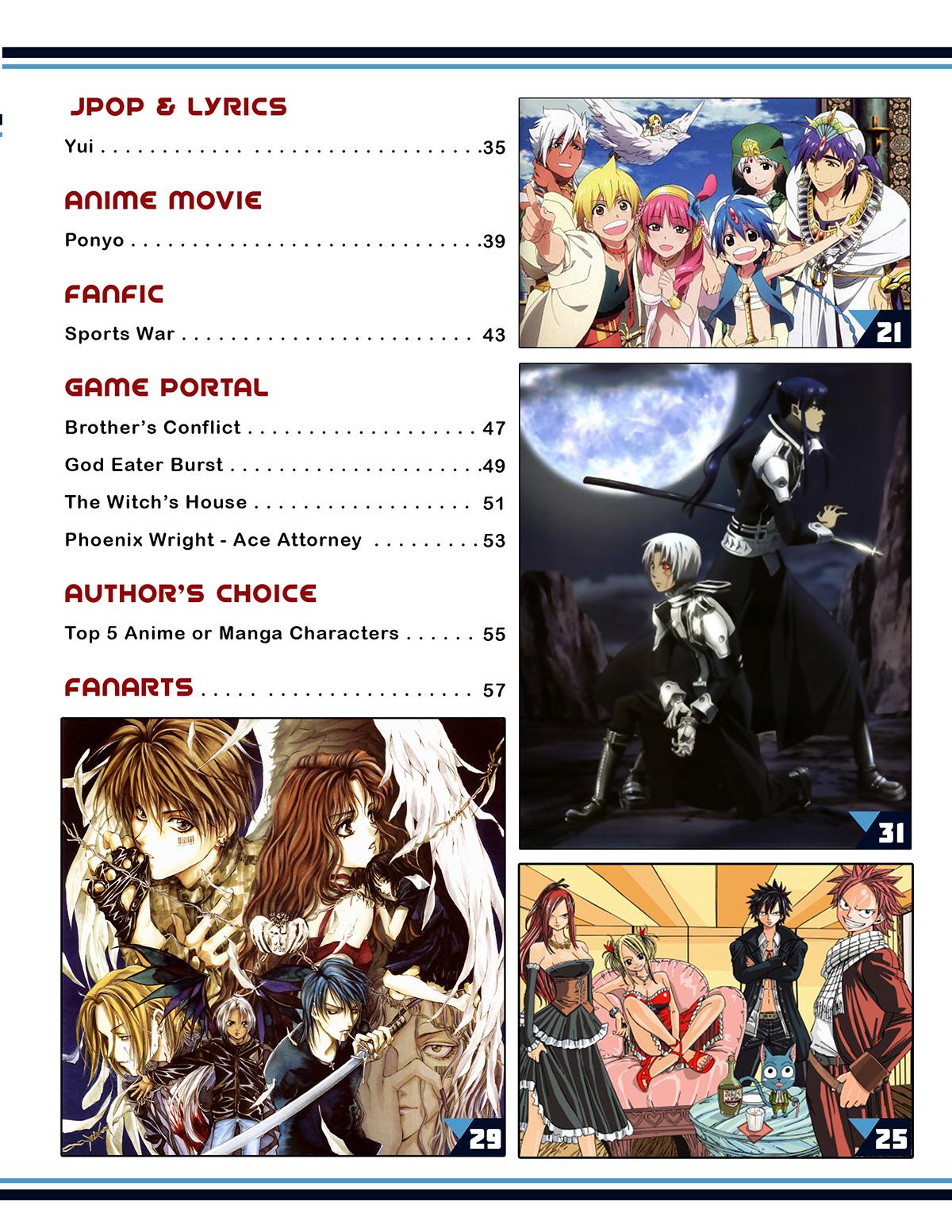 My Anime Magazine On Behance