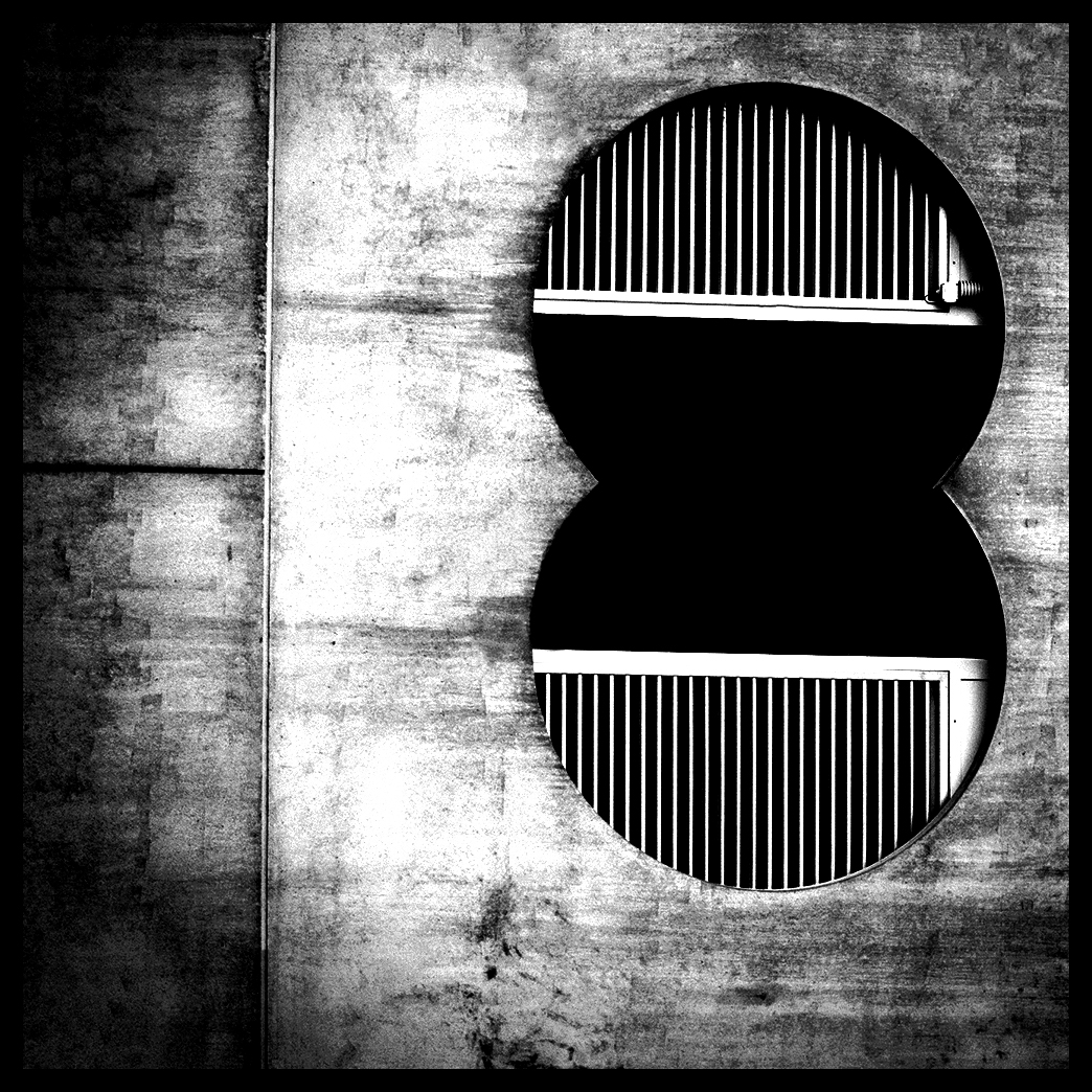 Urban geometry abstract architectuur city lines artwork photo color black White