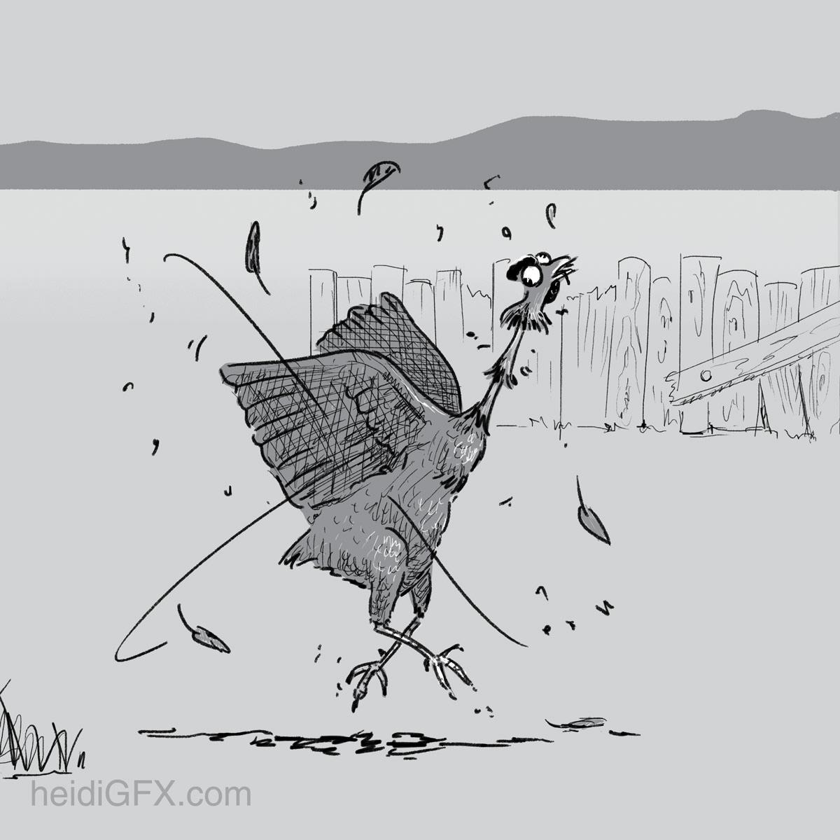 digital illustration Character design  storyboarding   visual storytelling Sequential Art digital illustrator Digital Drawing Illustrator black and white Cartoony
