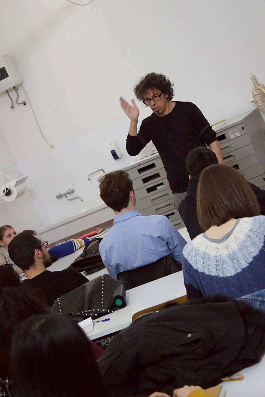 Workshop sergio olivotti ABA Perugia accademia grafica design illustrazione Francesco Mazzenga