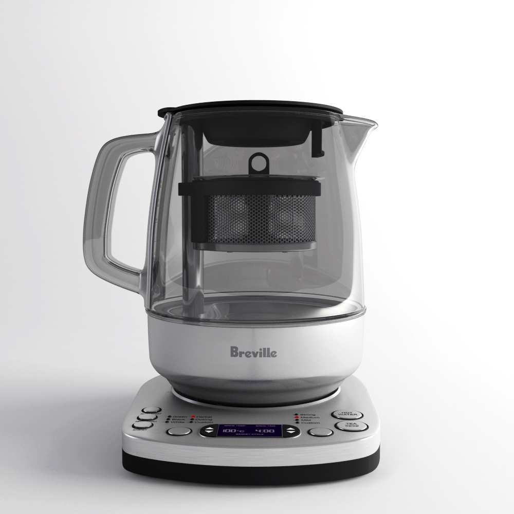 Tea Maker - Breville / 3ds Max - Vray on Behance