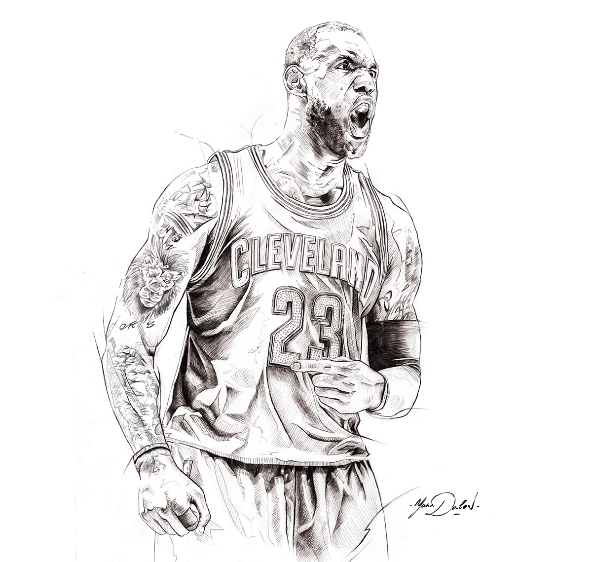 Lebron James On Behance