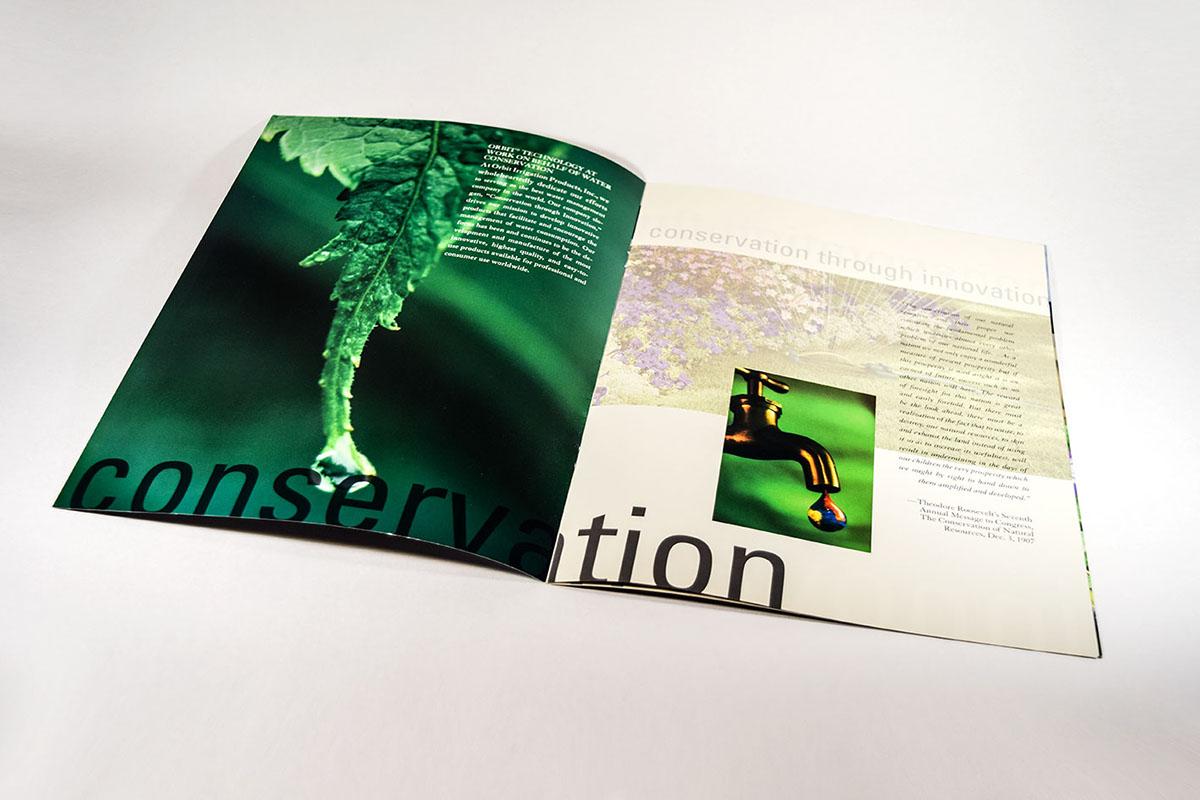 annual report catalog brochure
