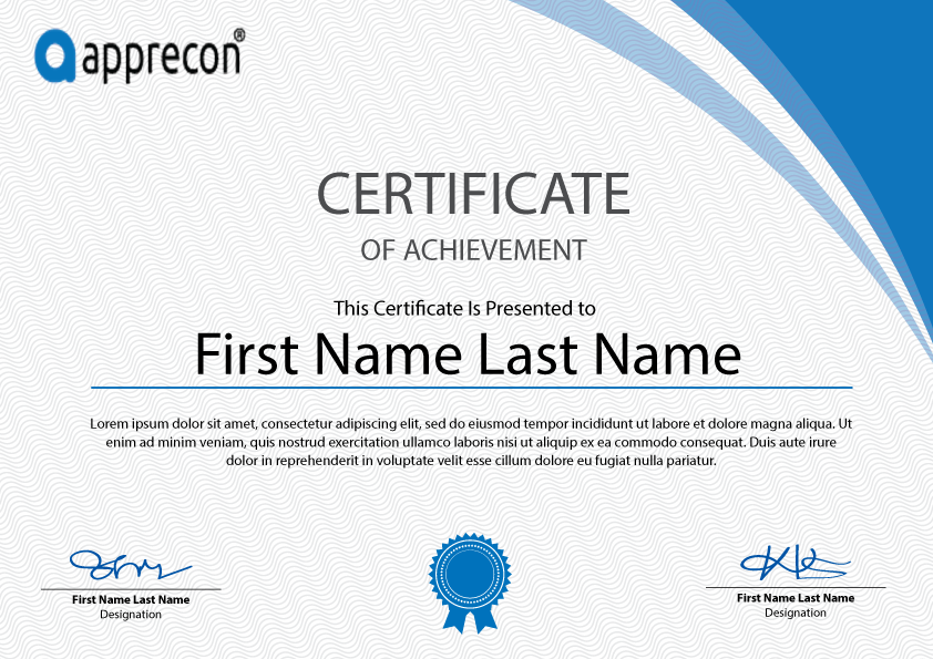Free Certificate Template Download  Certificates Free Download Free Printable