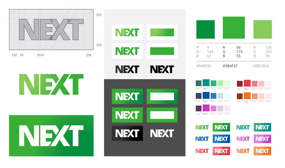 branding  green Logo Design