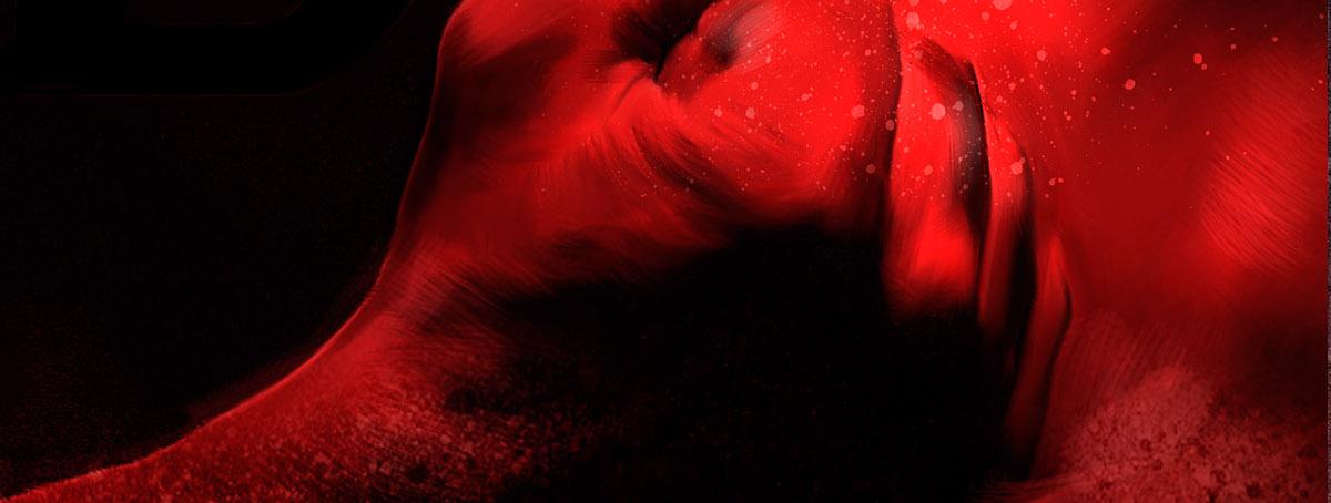 Adobe Portfolio Daredevil tv show marvel portrait poster Netflix