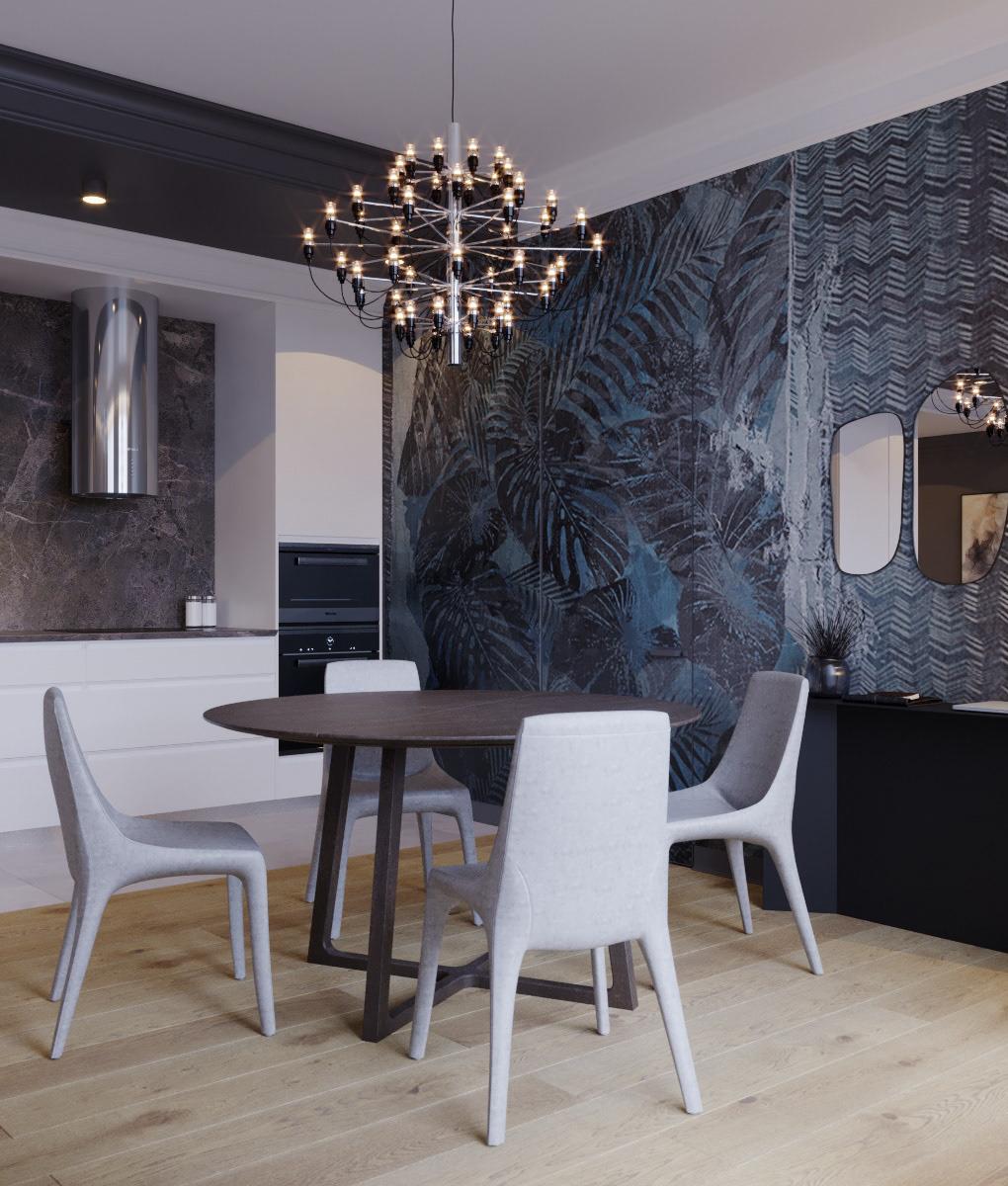 coronarenderer 3dsmax bucharest romania living dining design Interior