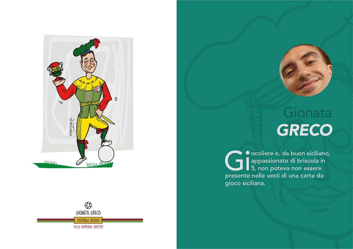 caricature   Character colour design digital painting Filippo Maniscalco illustrazione