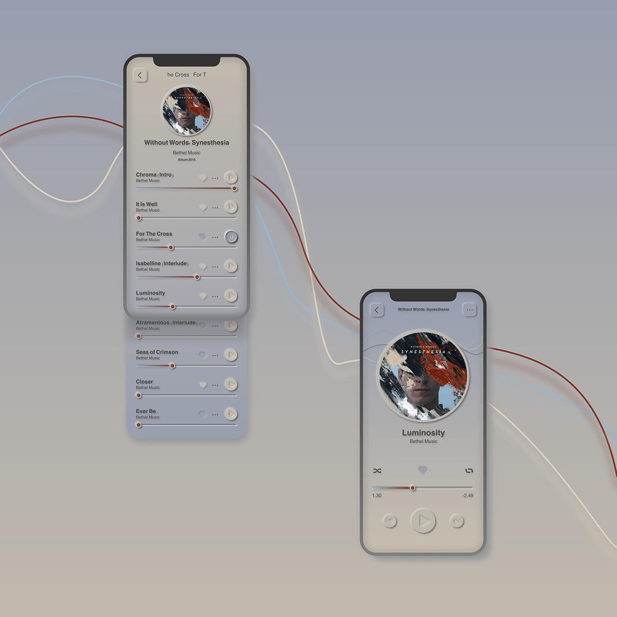 Daily Creative Challenge Mockup neumorphism ui prototype ui design soft ui