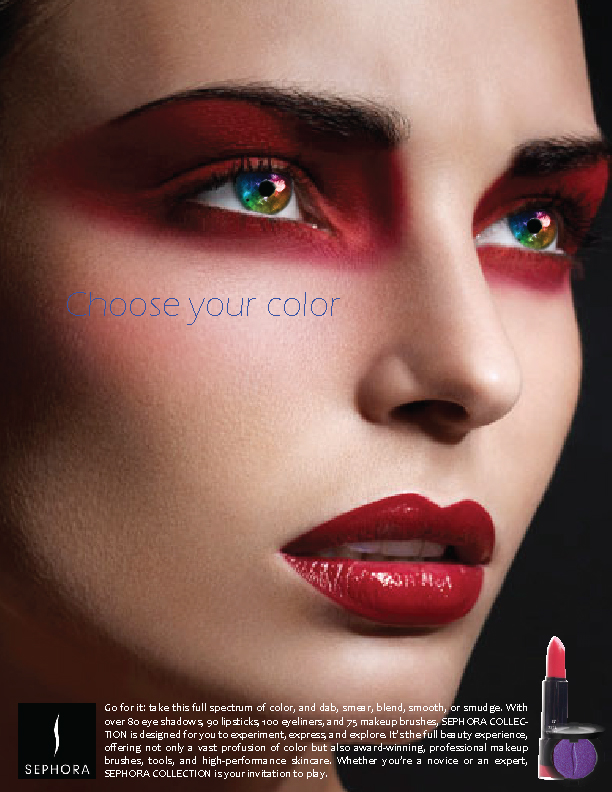 Sephora Advertisement Advertising Des...