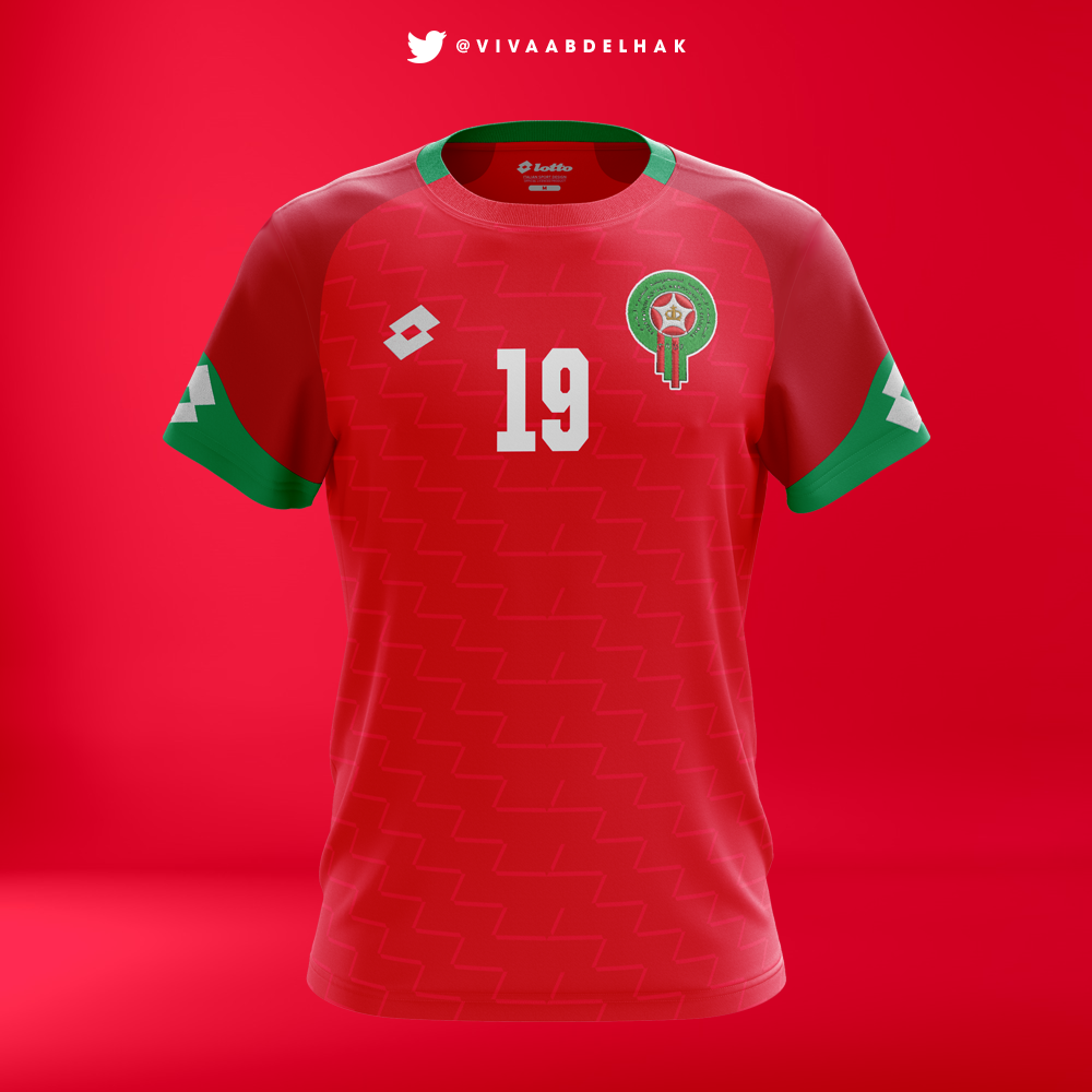 sale retailer 5366a 44eb0 Lotto Sports | Morocco Kits Concept on Behance