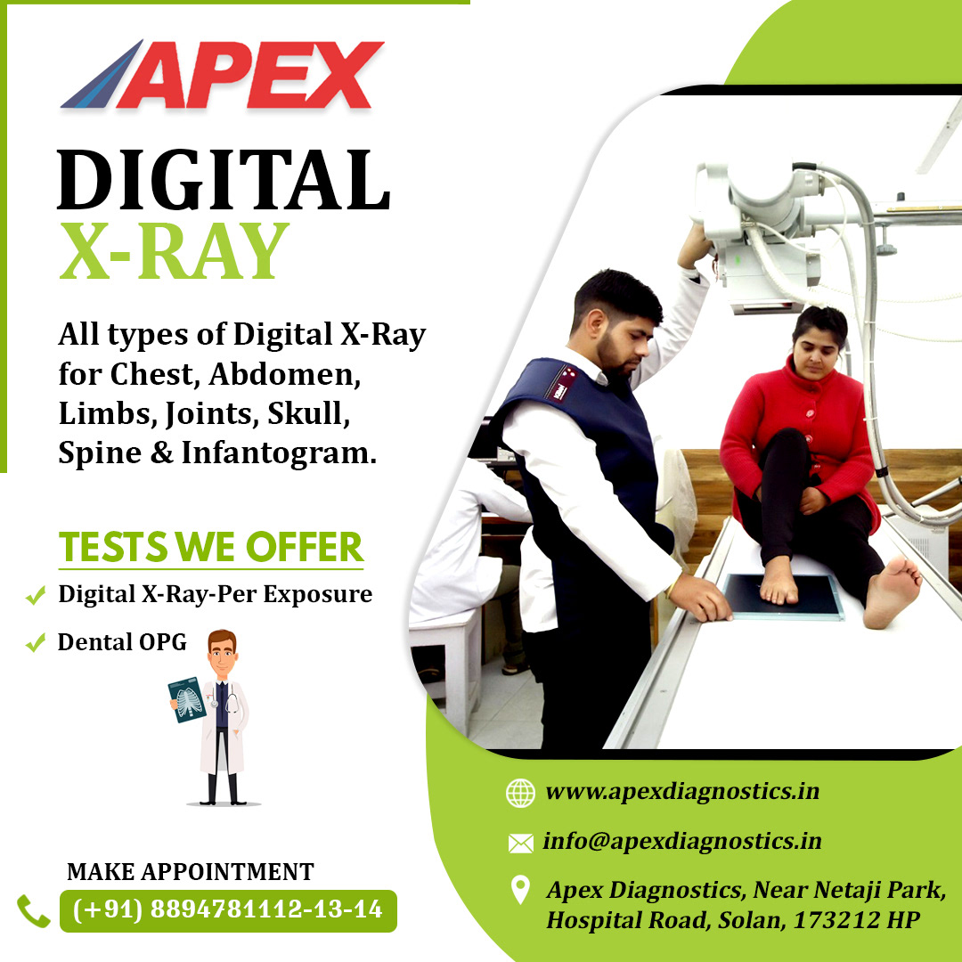 x-ray service in Solan