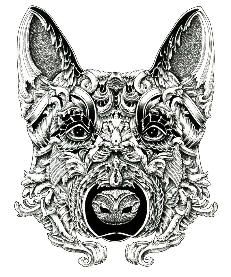 dogs animals dog Pet animal art drawings illustrations