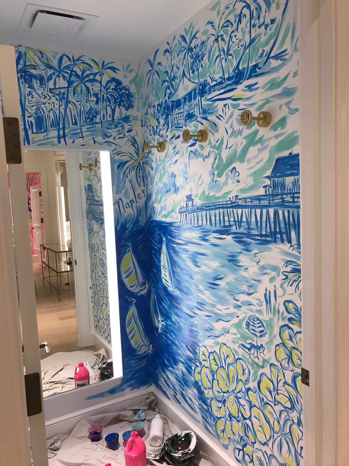 Lilly Pulitzer Stores On Behance
