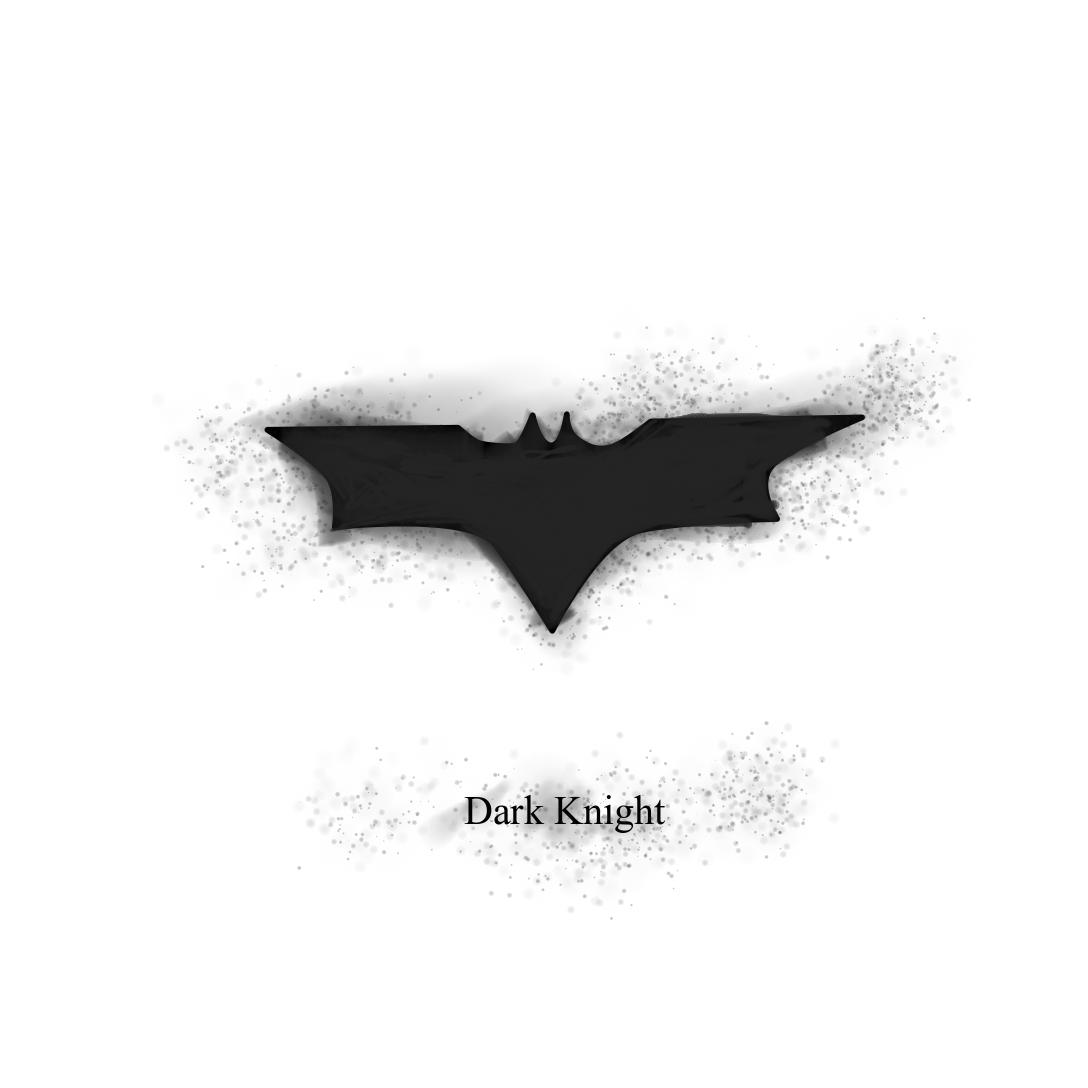 Indernik Graphic Designer Illustrator India Dark Knight Symbol