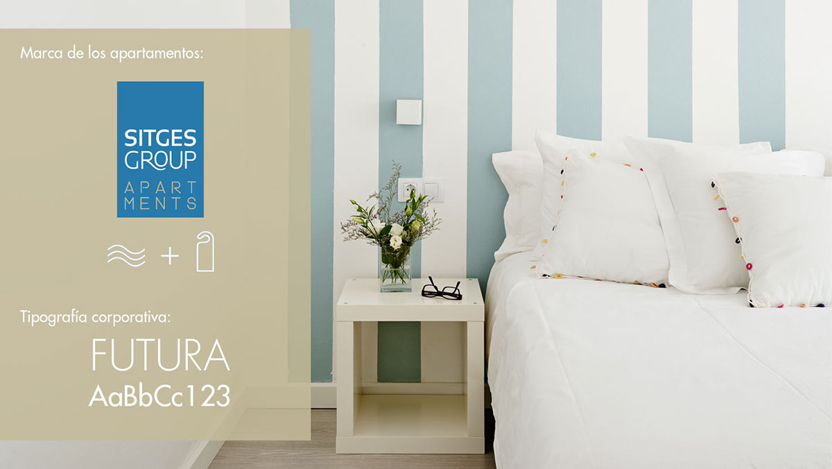 Sitges Group Apartments | Identity | Booking on Behance