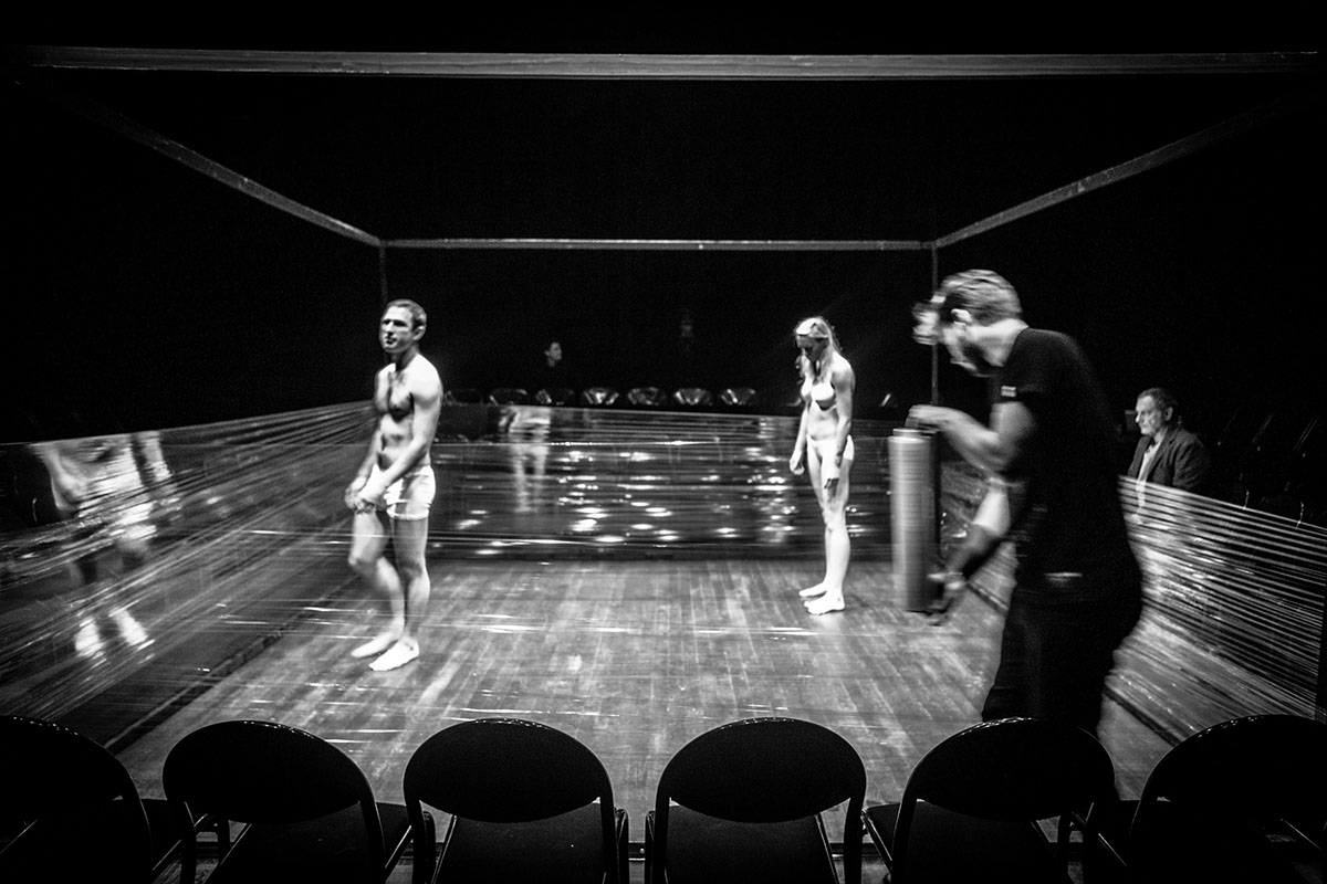 Theatre reportage Photographie