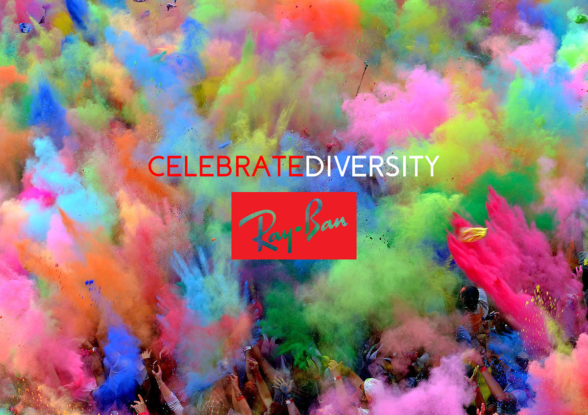 5cb53c8cd61 Ray-Ban - celebrate diversity on Student Show