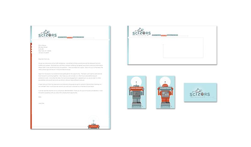 Adobe Portfolio logo Playful robot