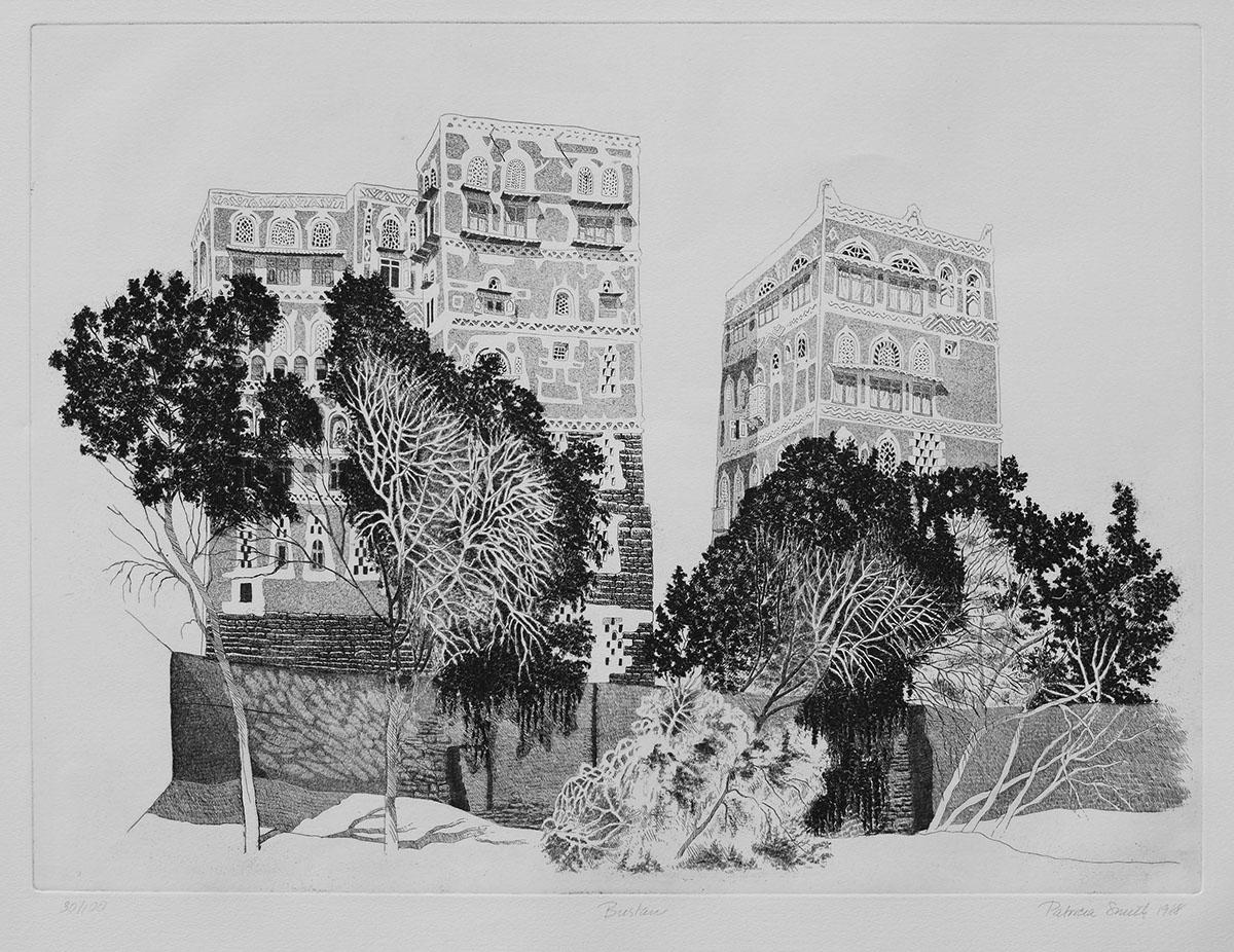 Adobe Portfolio yemen etching.