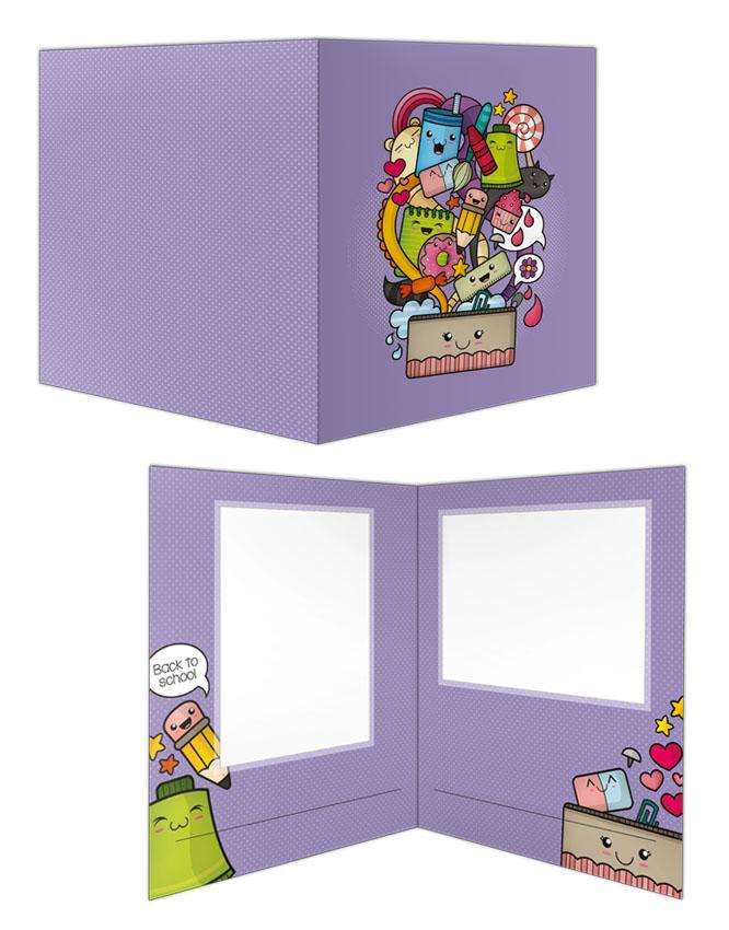 kawaii Carpeta ilustracion infantil