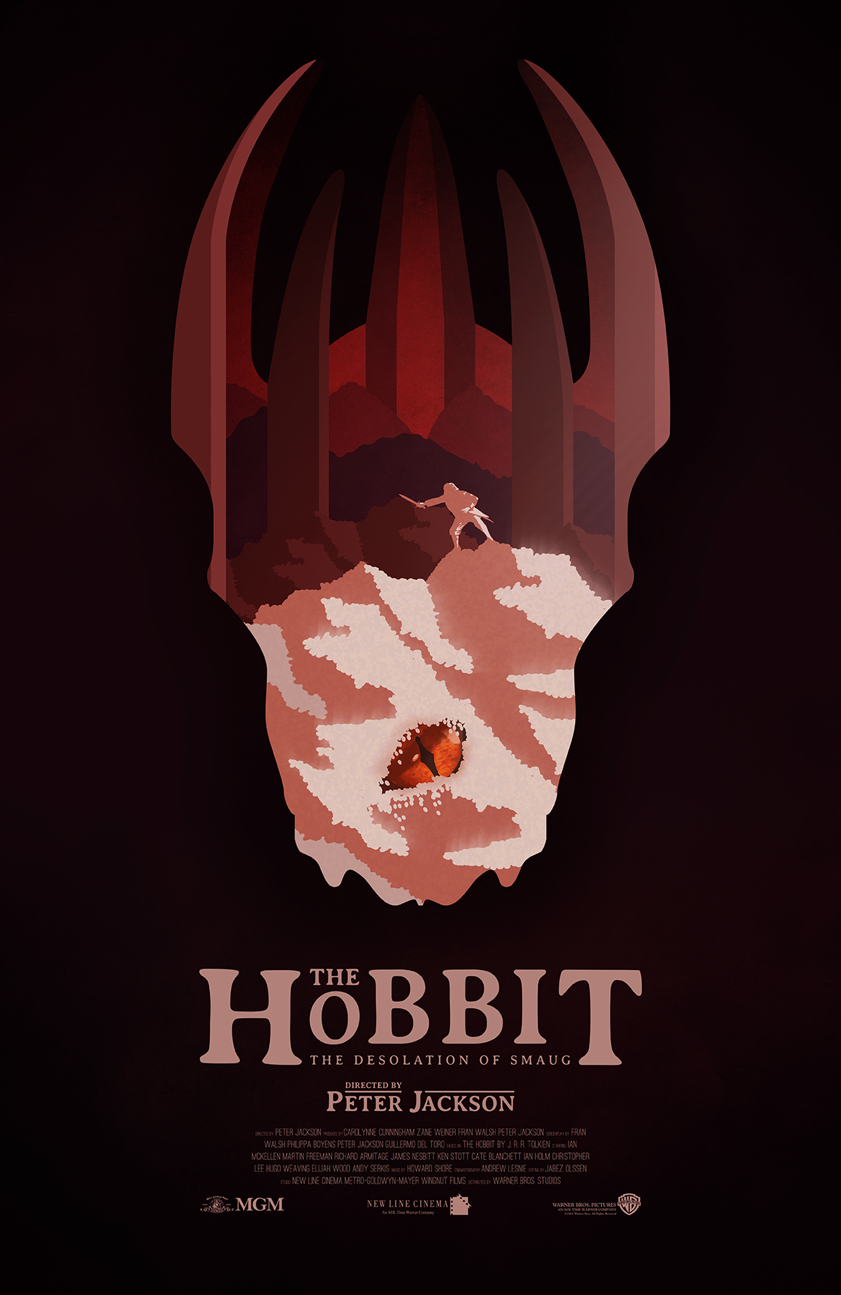 The Hobbit Movie Posters on Behance
