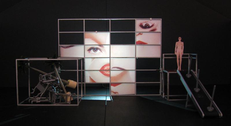 mannequin face fragments modular