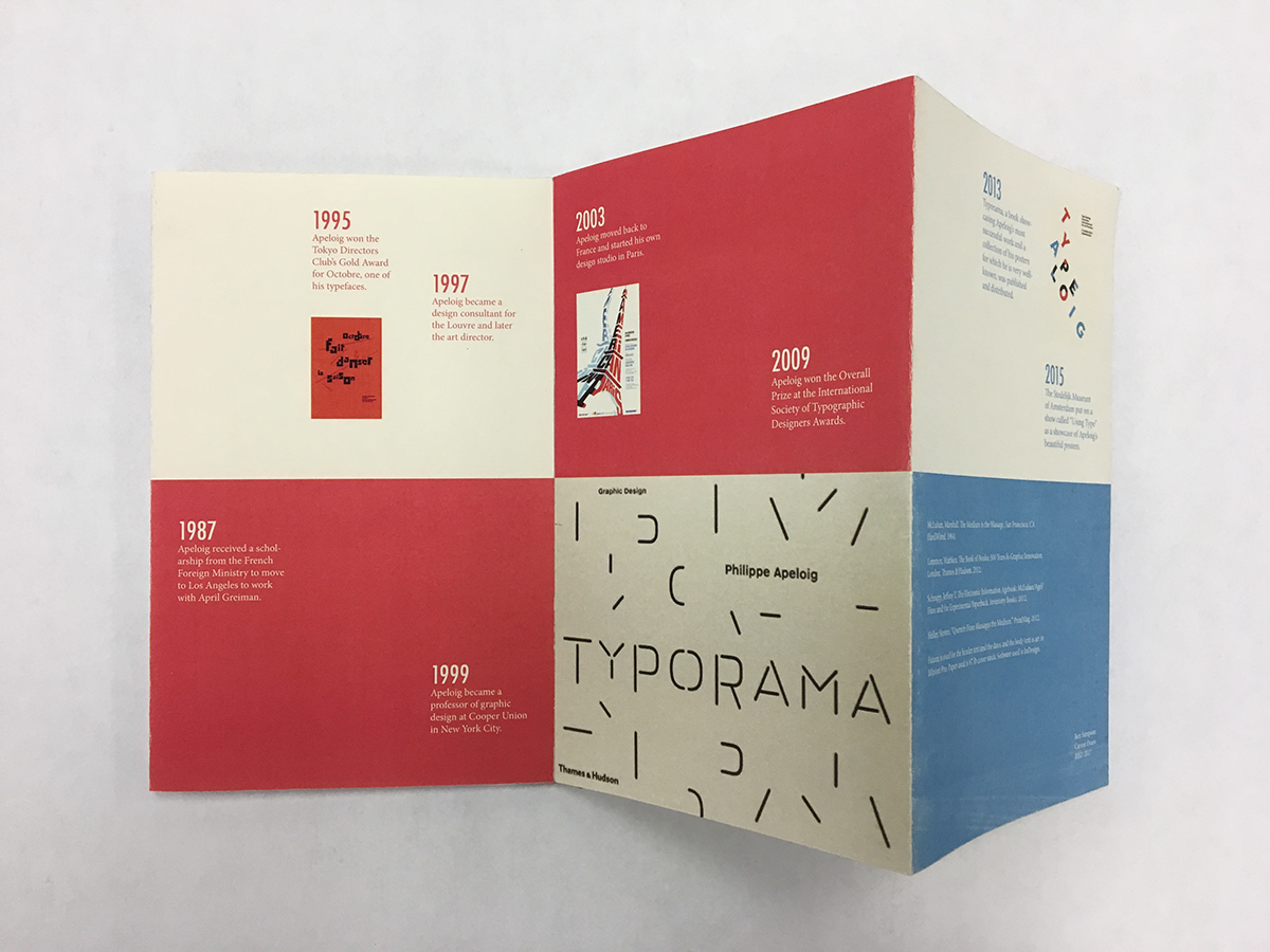Graphic Designers Timeline on RISD Portfolios