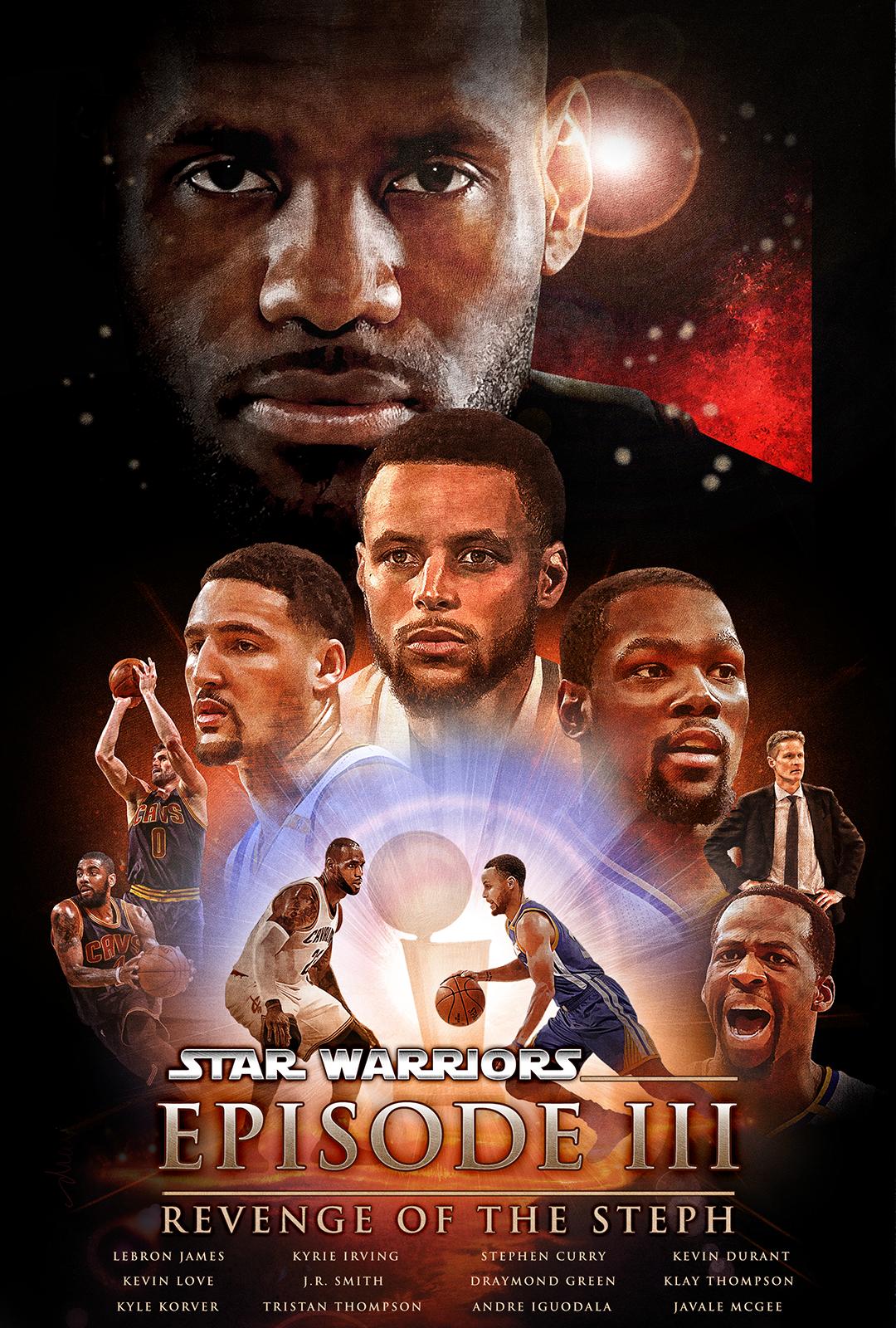 NBA Finals movie poster for Bleacher Report on Behance