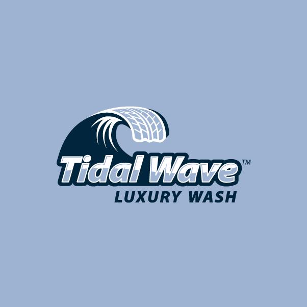Tidal Wave Car Wash Logo Branding On Aiga Member Gallery