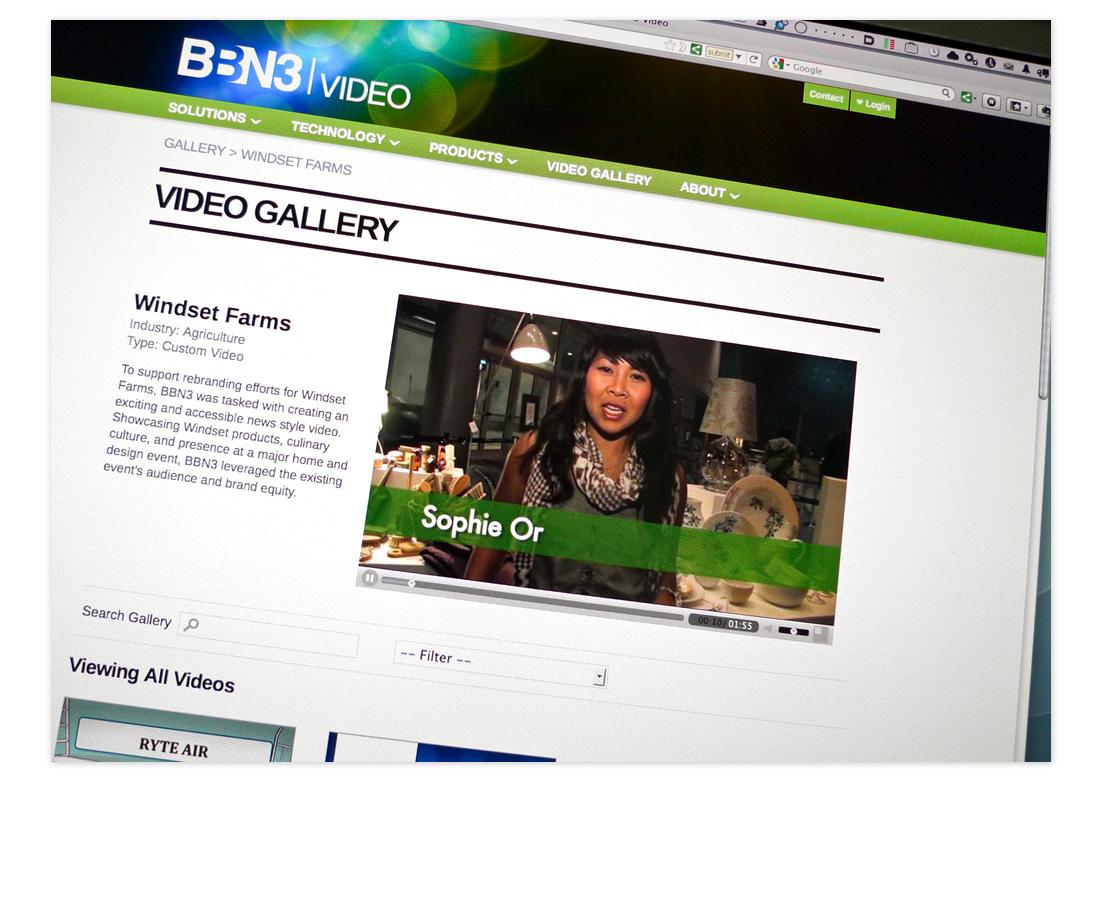 BBN3 Video website