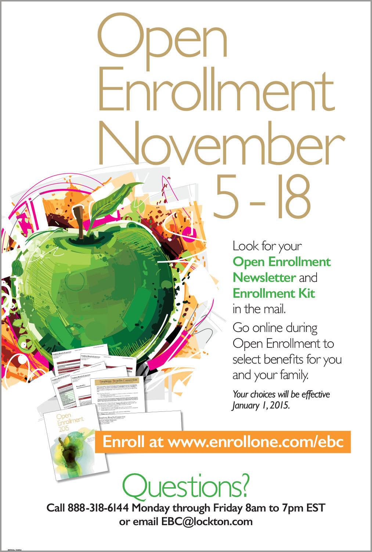 Open Enrollment Campaign on Behance