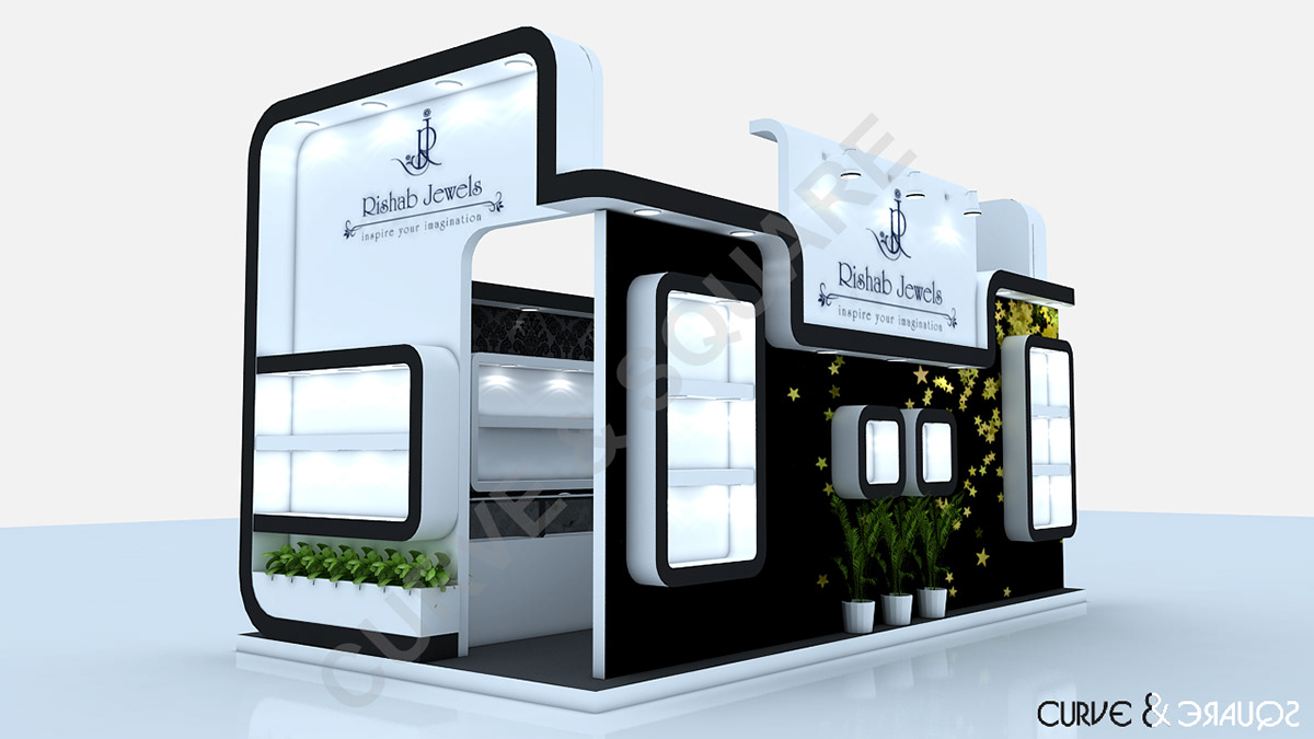 Exhibition Stall On Behance : Stall designs on behance