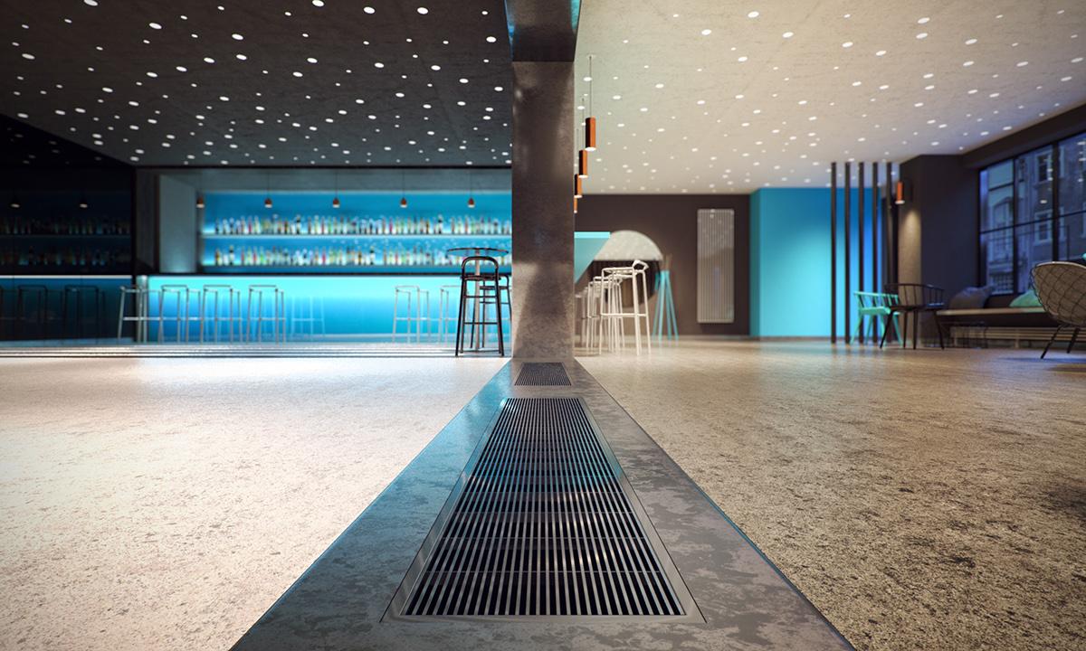 bar club public space Interior koktajlbar